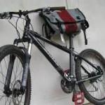 Rendkívül praktikus biciklis táska