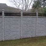Kerítés építése betonból