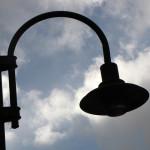Kültéri lámpa, igényes szerelés